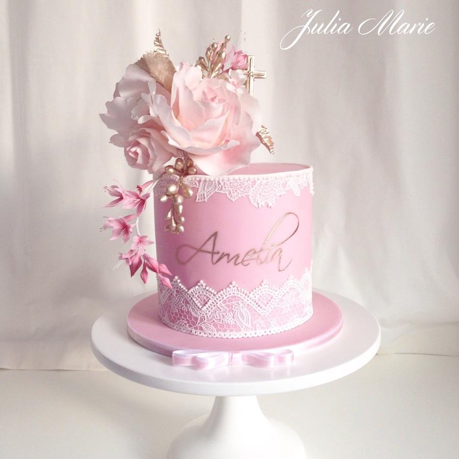Christening Cake Recipe Ideas