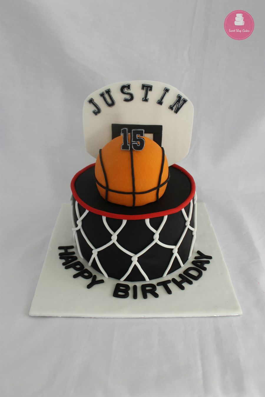 Awesome Basketball Themed Birthday Cake Cakecentral Com Birthday Cards Printable Nowaargucafe Filternl