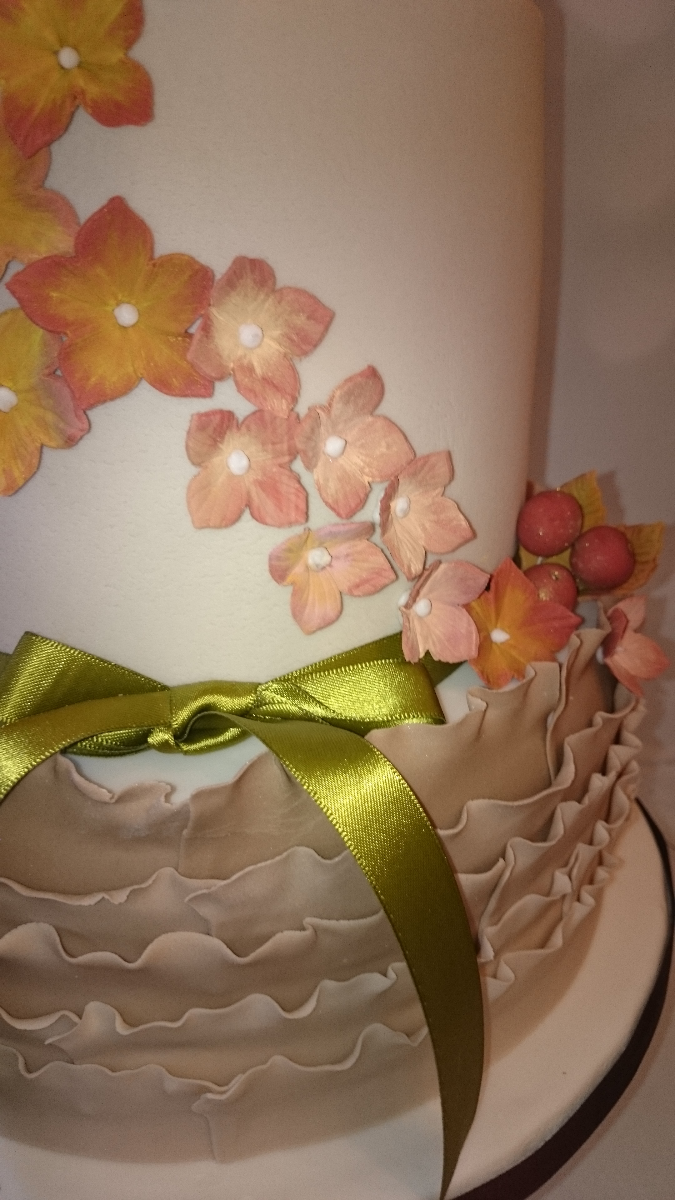 Autumn Themed Wedding Cake CakeCentral