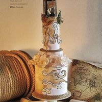 Cake Central Magazine - Volume 6 Issue 5 Vintage Nautical Wedding.