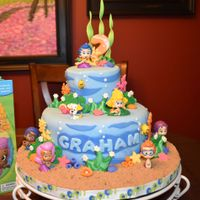 Bubble Guppies For Graham's 2Nd Birthday! I had the pleasure of making a Bubble Guppies Cake for my grandson's 2nd birthday as it is his favorite show! You can see in the...