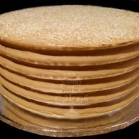 Coconut Cake Coconut cake with coffee flavoured swiss Meringue buttercream