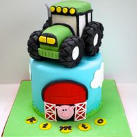 Tractor Cake Tractor CAKE