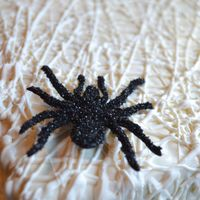 Surprise Inside Spider Cake Oh what a tangled web we weave . . . Chocolate cake spider inside a web covered lair. Exterior inspired by The Cake Blog except I thought...