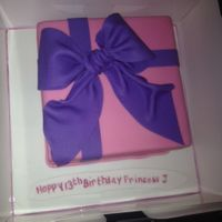 Birthday Cake   Gift box