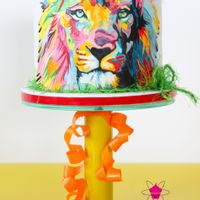 """through The Eyes Of A Lion"" My coolest ""Leo""-Friend, Sam, celebrated his 17th BDay this summer, so I tried my best to create a cake worthy of Mr...."