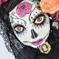 "Sugar Skull Bakers 2015: La Dulce Vida This is my contribution to ""Sugar Skull Bakers"" collaboration. It is my first year with this amazing group. Head on over to see..."