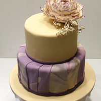 Purple The insides: Vanilla Sponge with Moha Buttercream