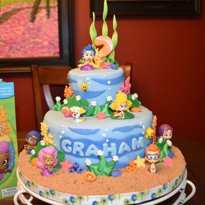 Sensational Bubble Guppies Cake Decorating Photos Personalised Birthday Cards Veneteletsinfo