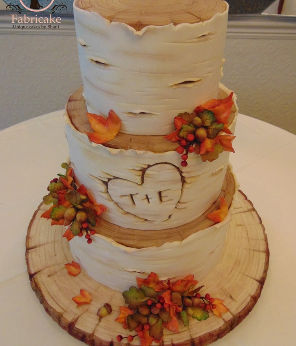 Autumnal Wedding Cake