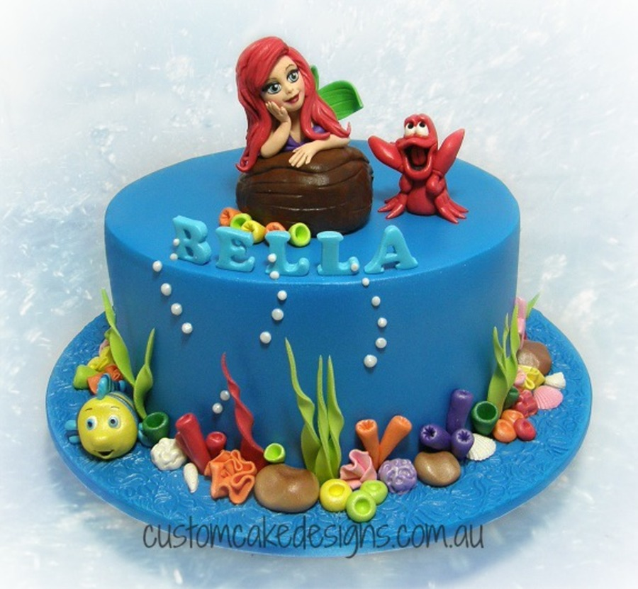 Mermaid Birthday Cake Uk