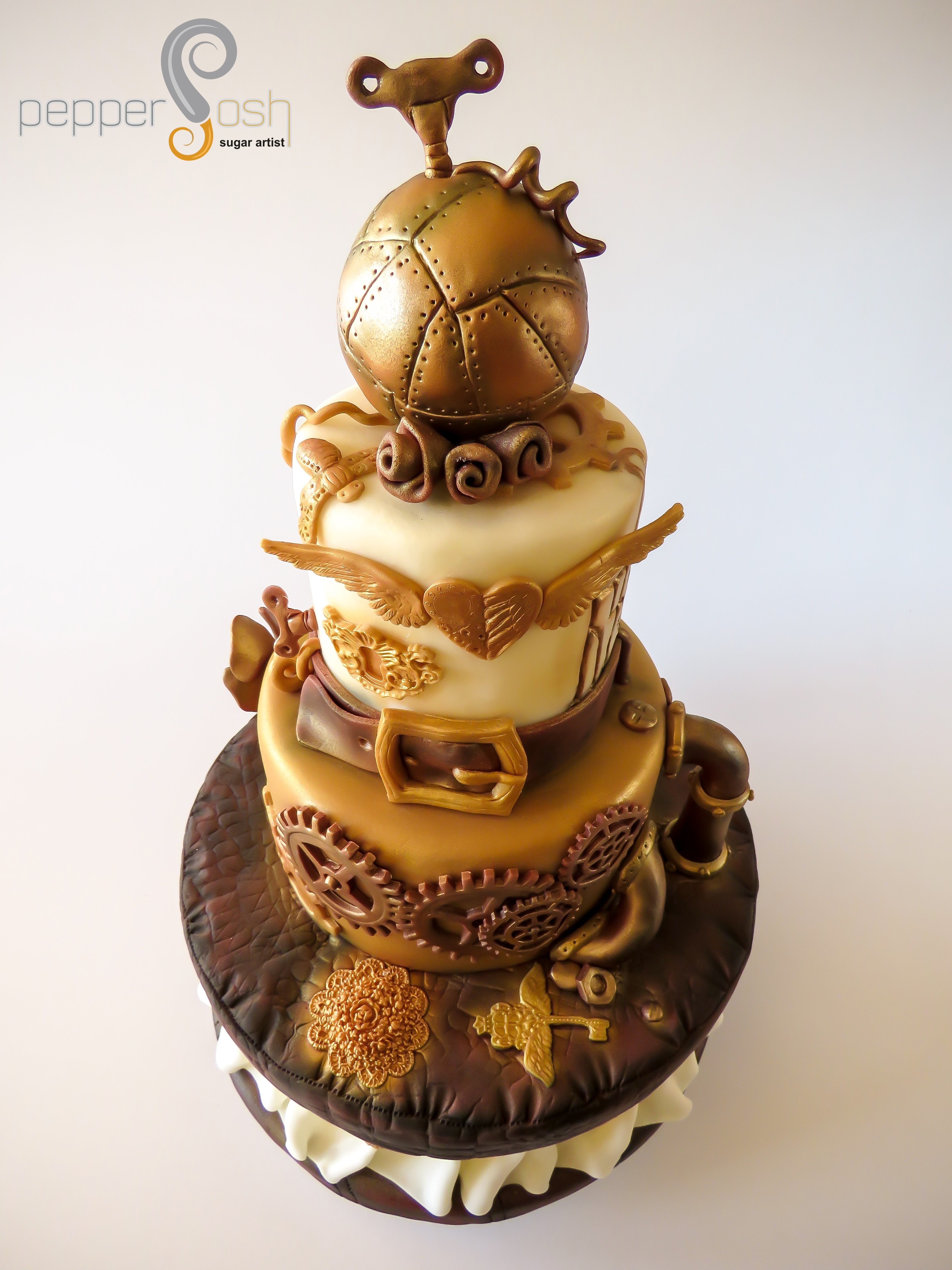 Steampunk Birthday Cake Cakecentral Com