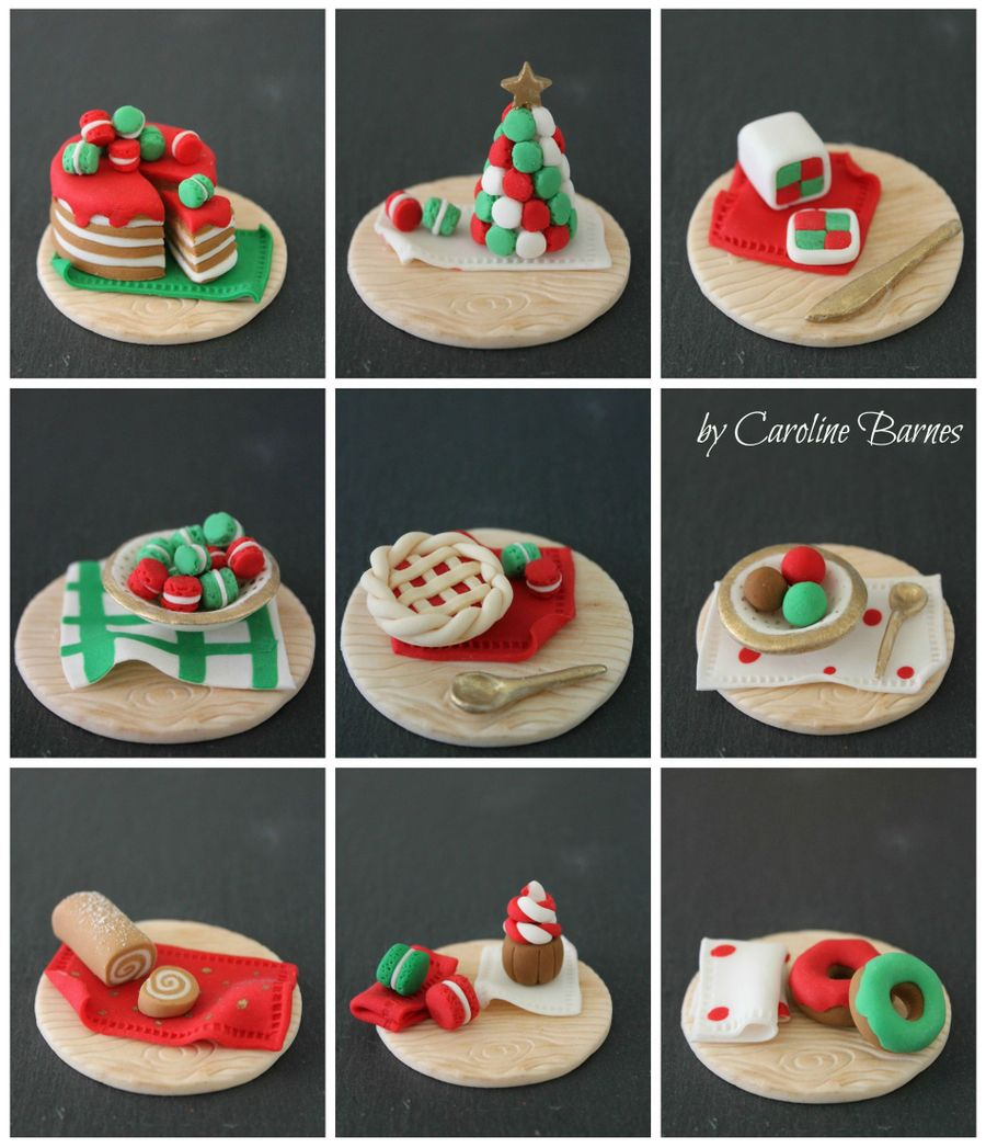 Christmas Cupcake Toppers.Christmas Cupcake Toppers Miniature Desserts Cakecentral Com