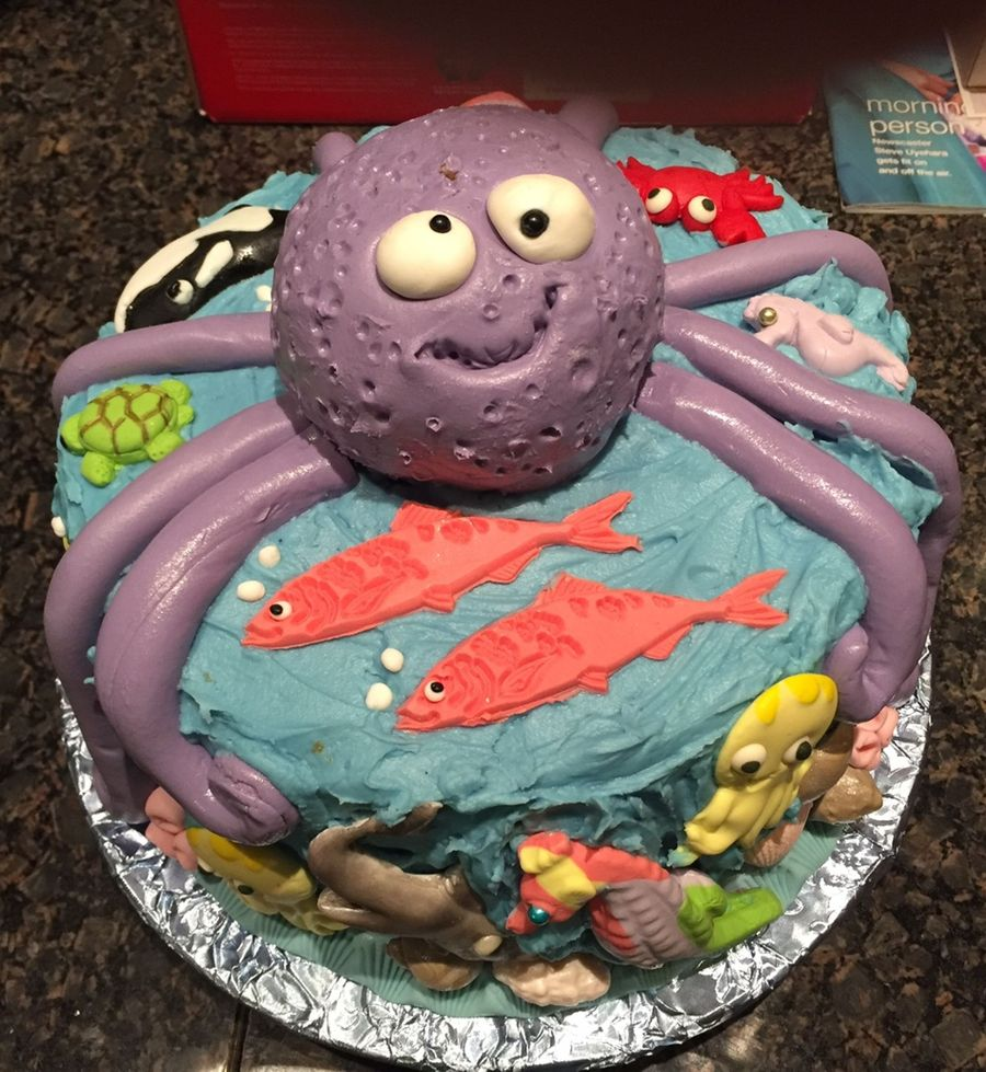 Under The Sea Baby Shower on Cake Central