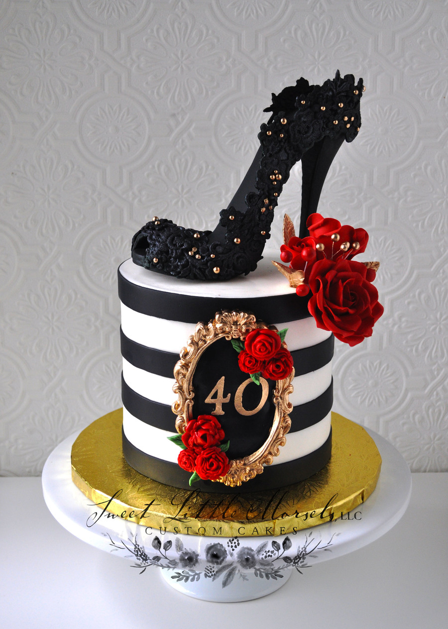 Phenomenal 40Th Birthday Cake Cakecentral Com Funny Birthday Cards Online Elaedamsfinfo