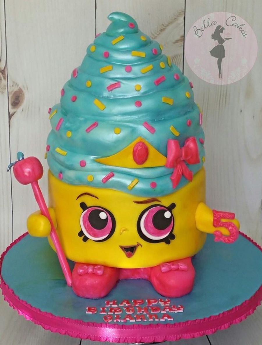 Shopkins Cupcake Queen On Cake Central