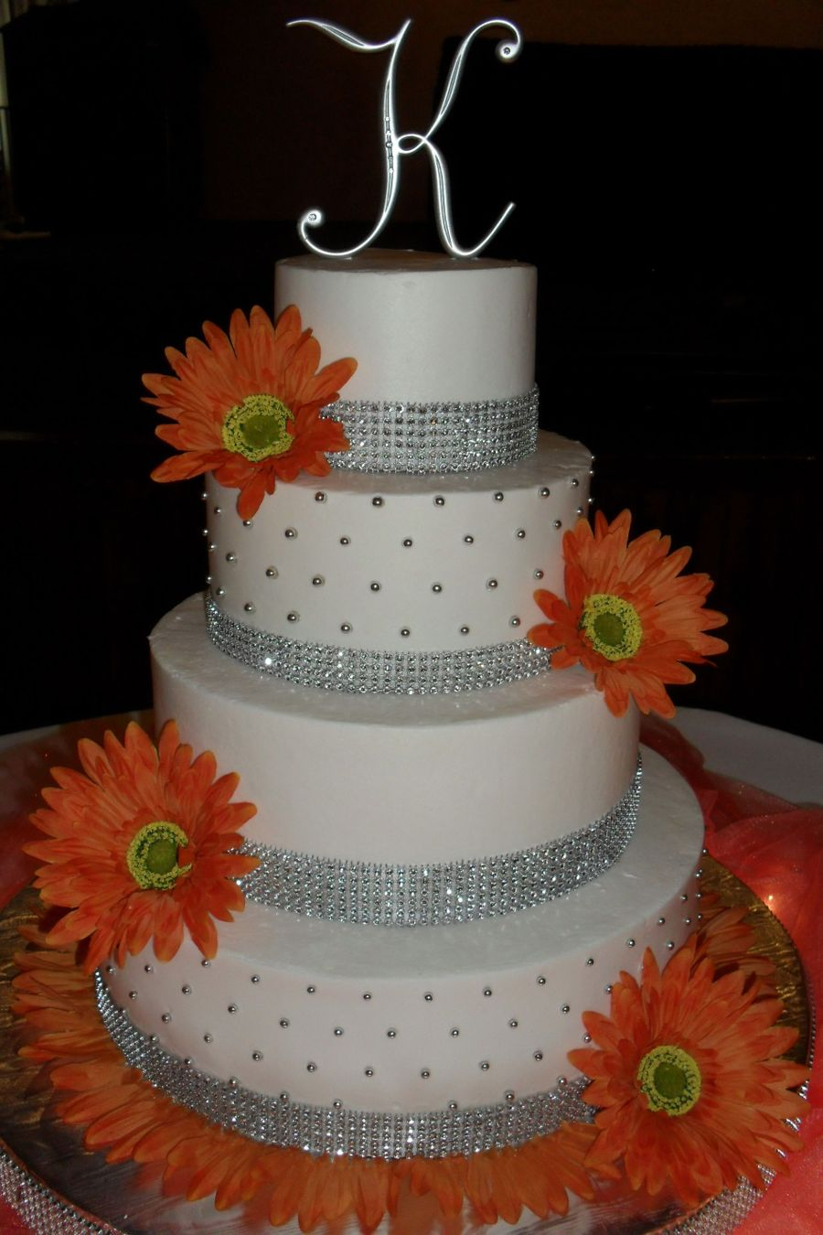 square wedding cakes with bling square bling cake cakecentral 20416