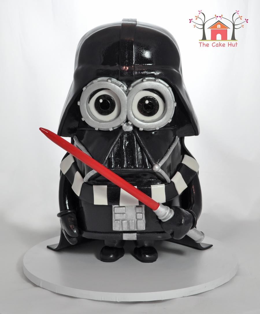Darth Vader Minion Cake Cakecentral Com
