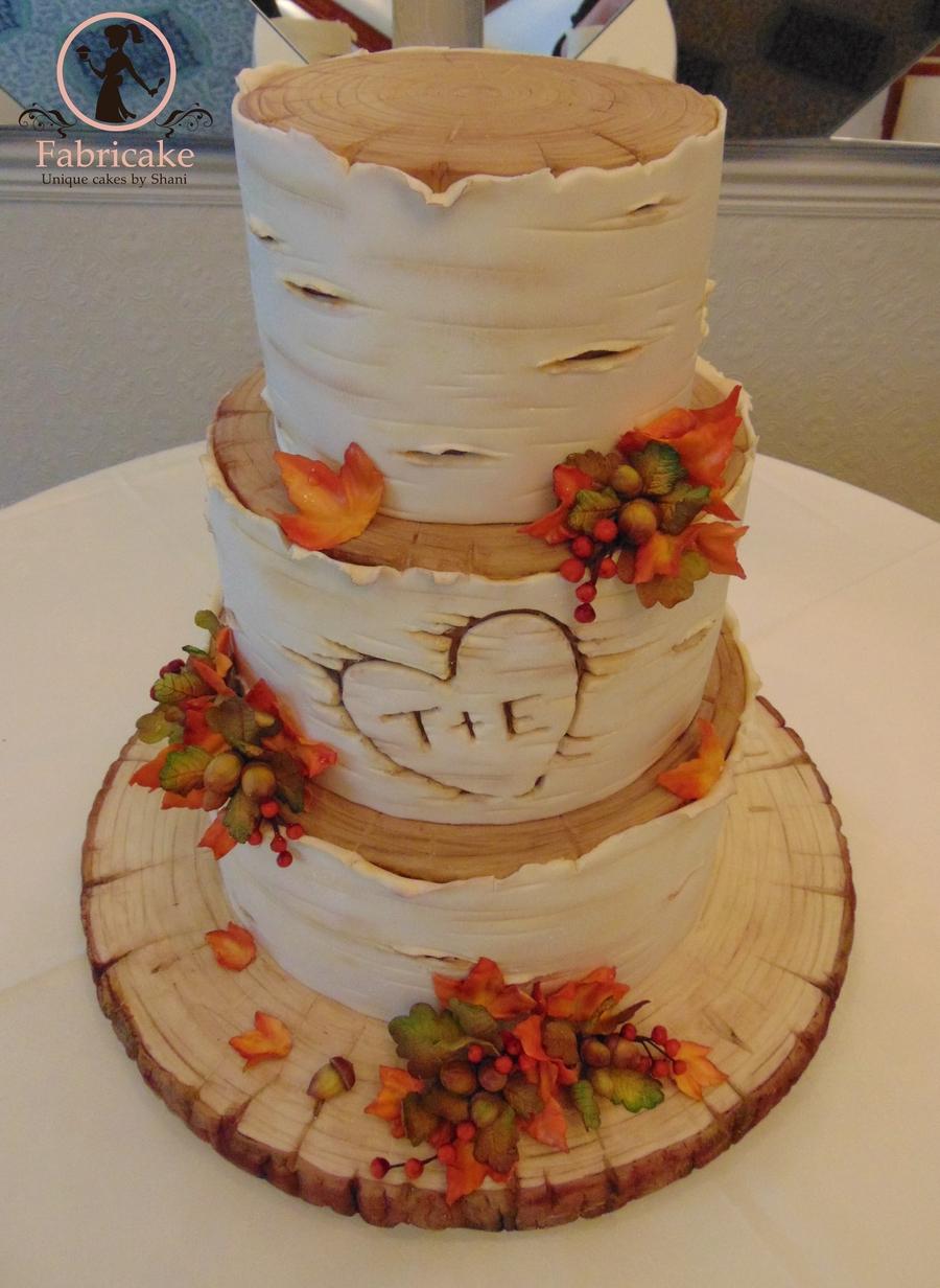 Autumnal Wedding Cake Cakecentral Com