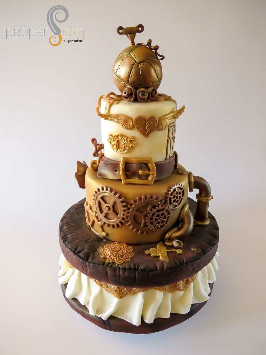 Steampunk Cake Designs