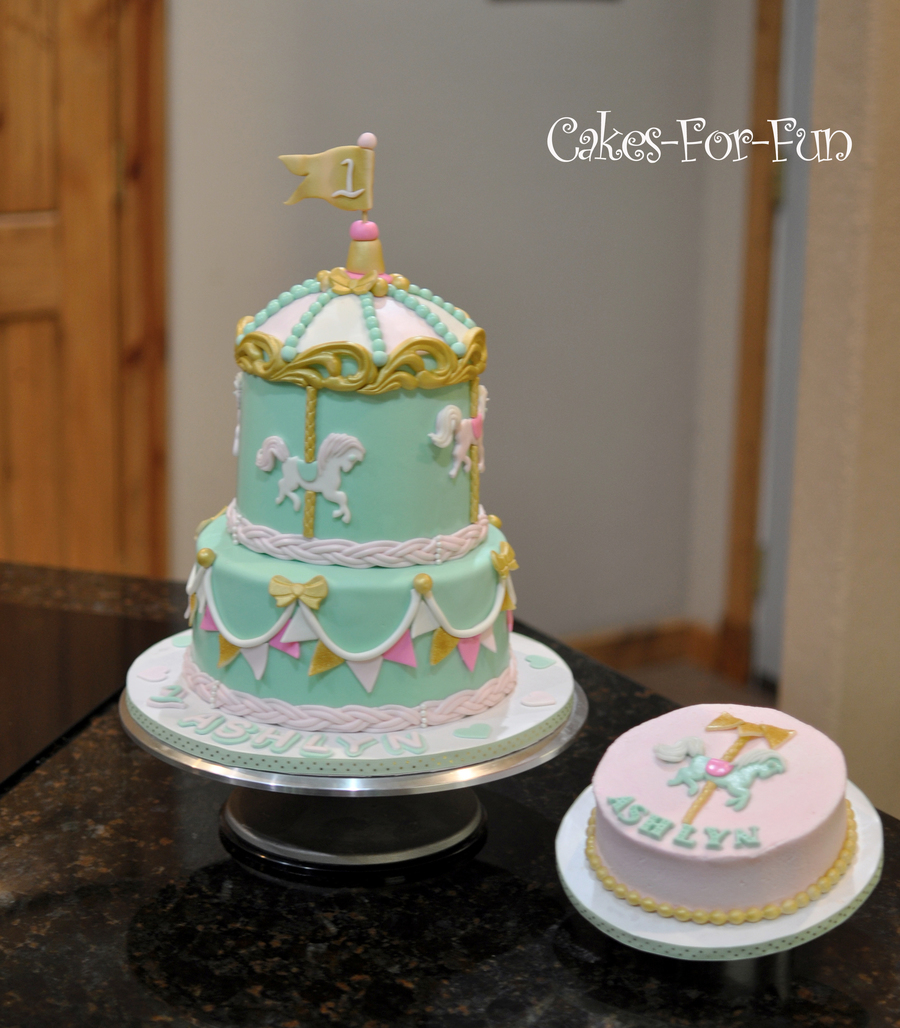 Carousel Birthday Cake Cakecentral Com