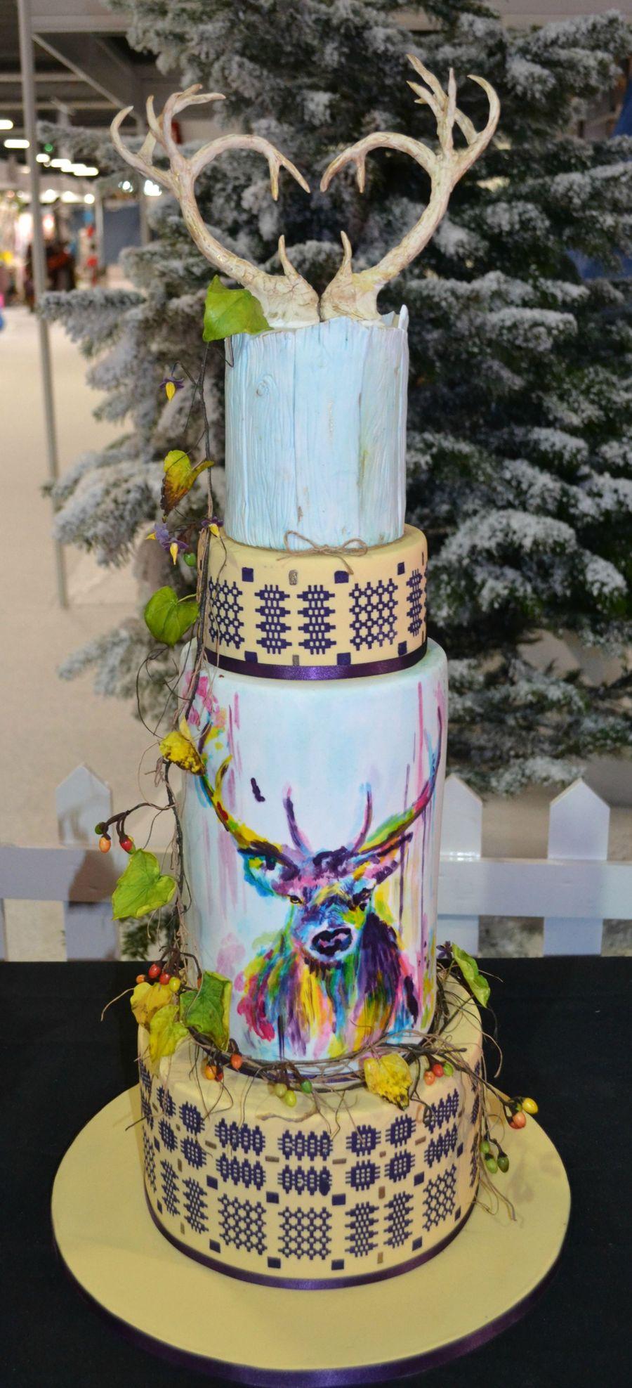 whimsical forest wedding cake cakecentral com