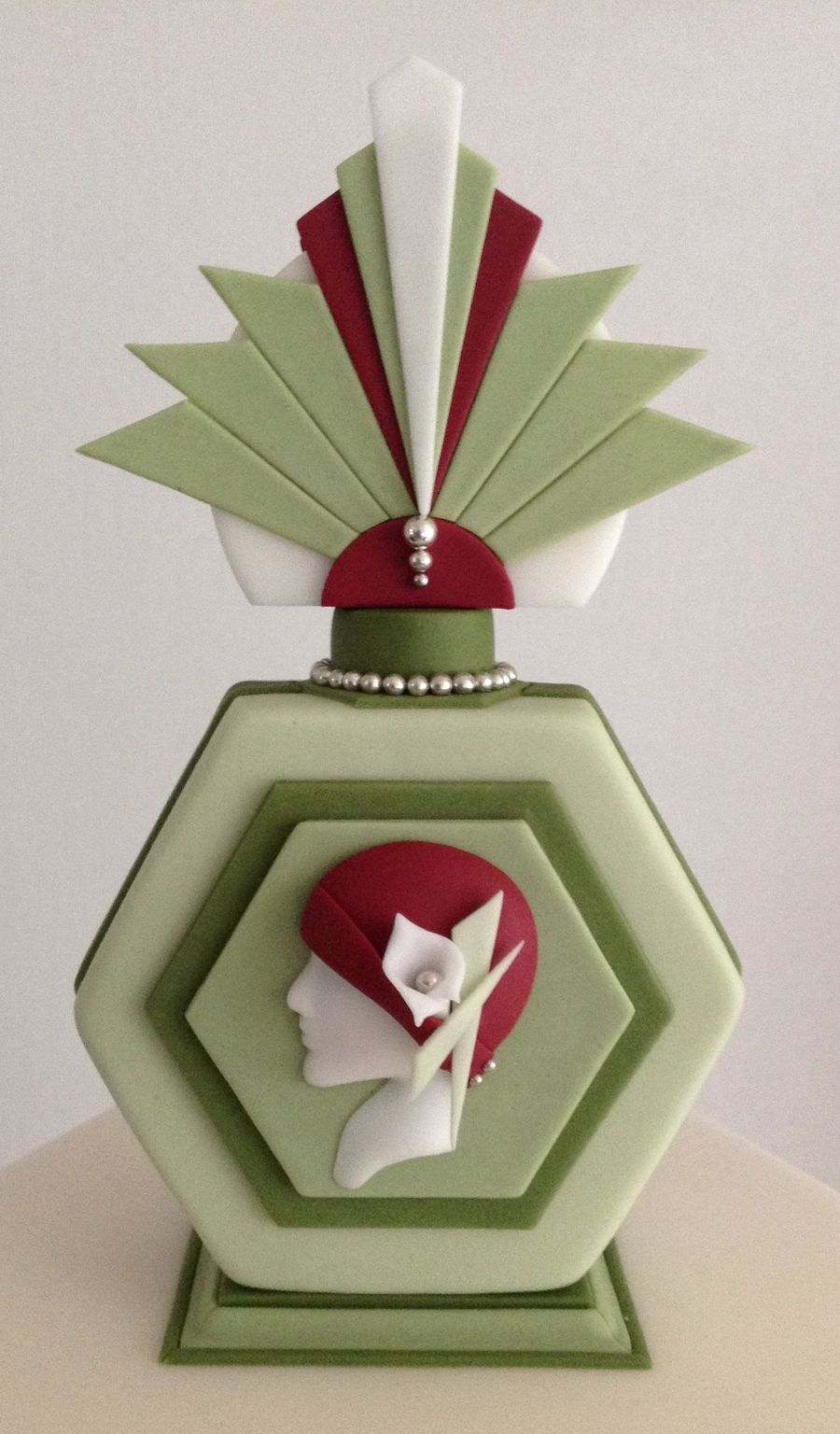 Art Deco Cake Decorations : Art Deco Cake Topper - CakeCentral.com