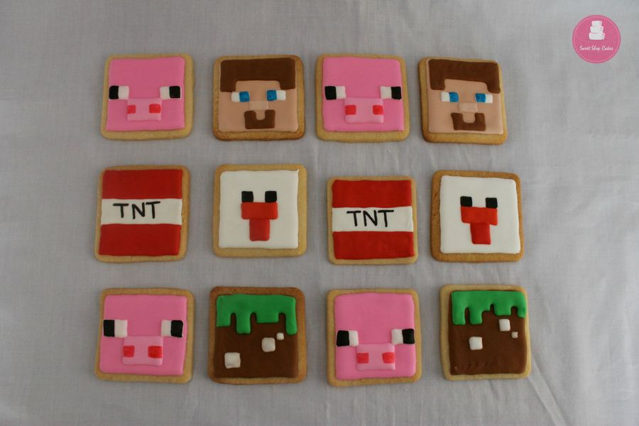 Minecraft How To Make Cake And Cookies