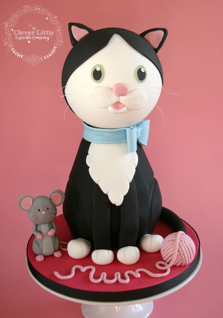 Cat And Mouse Birthday Cake Cakecentral