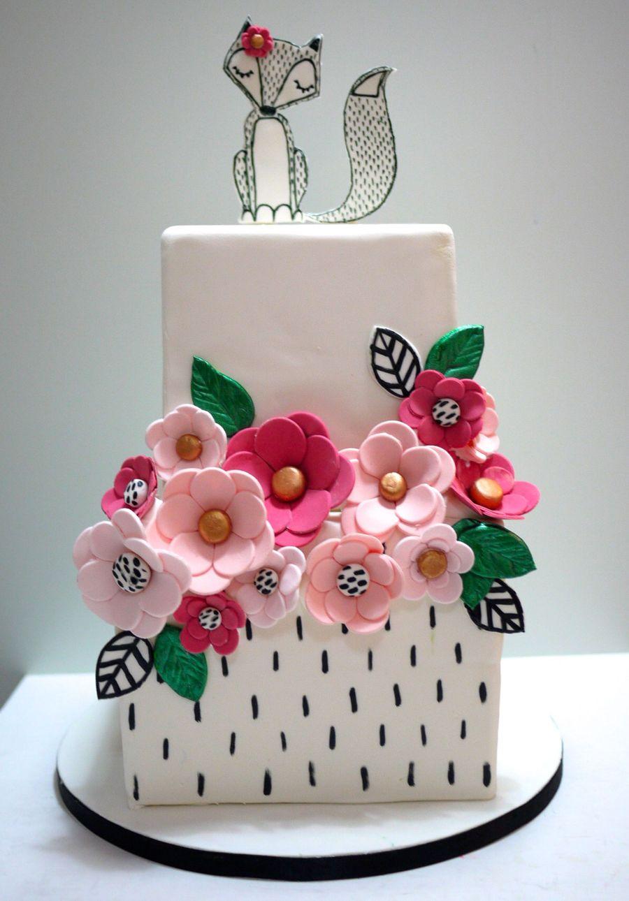 Fox Wedding Cake Cakecentral Com