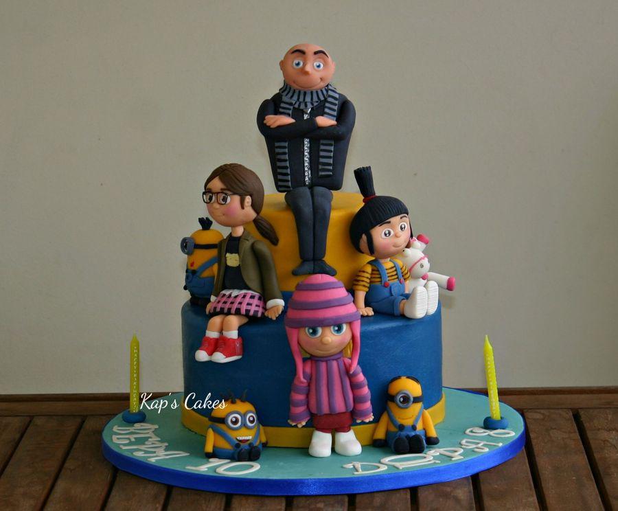 Despicable Me Agnes Cake