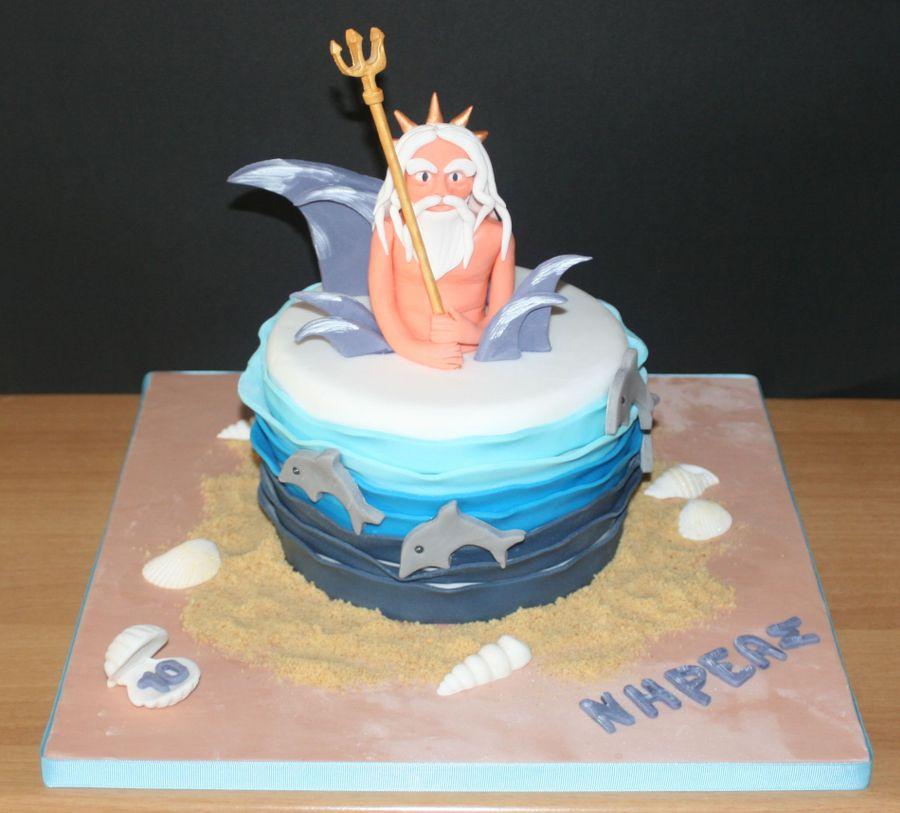Nereus Greek Mythological God Cake Cakecentral Com