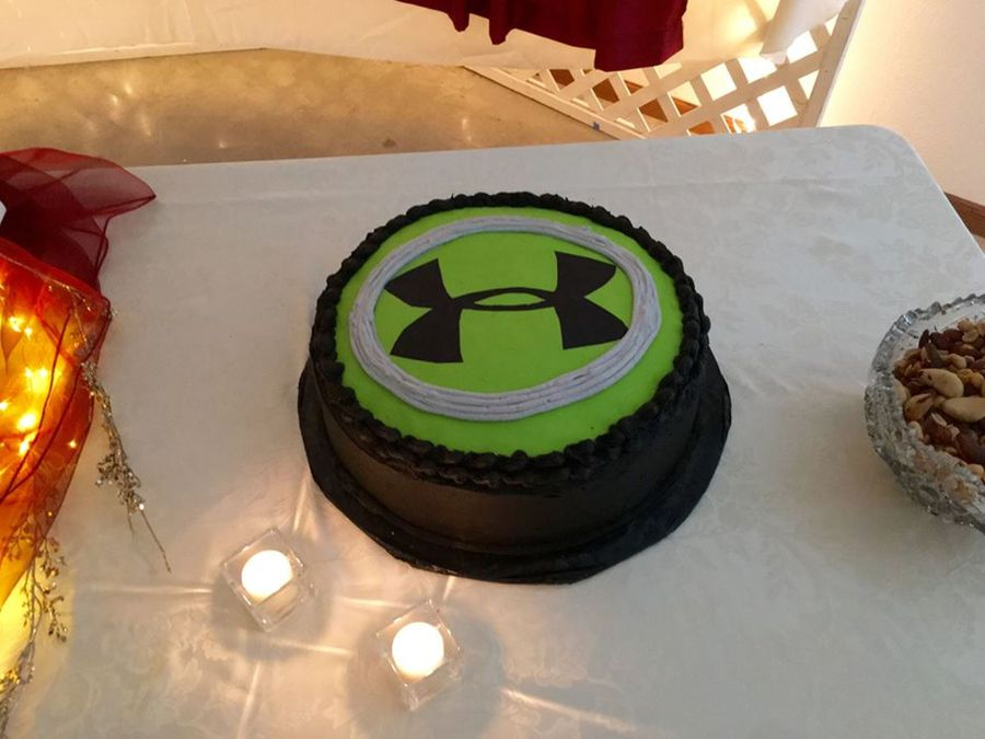 Underarmour Grooms Cake Cakecentral