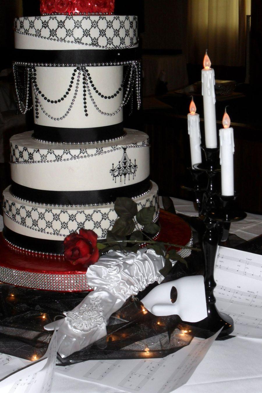 Phantom Of The Opera Themed Wedding Cakecentral
