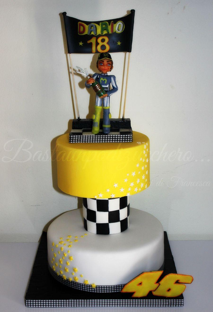 Valentino Rossi Cake Topper