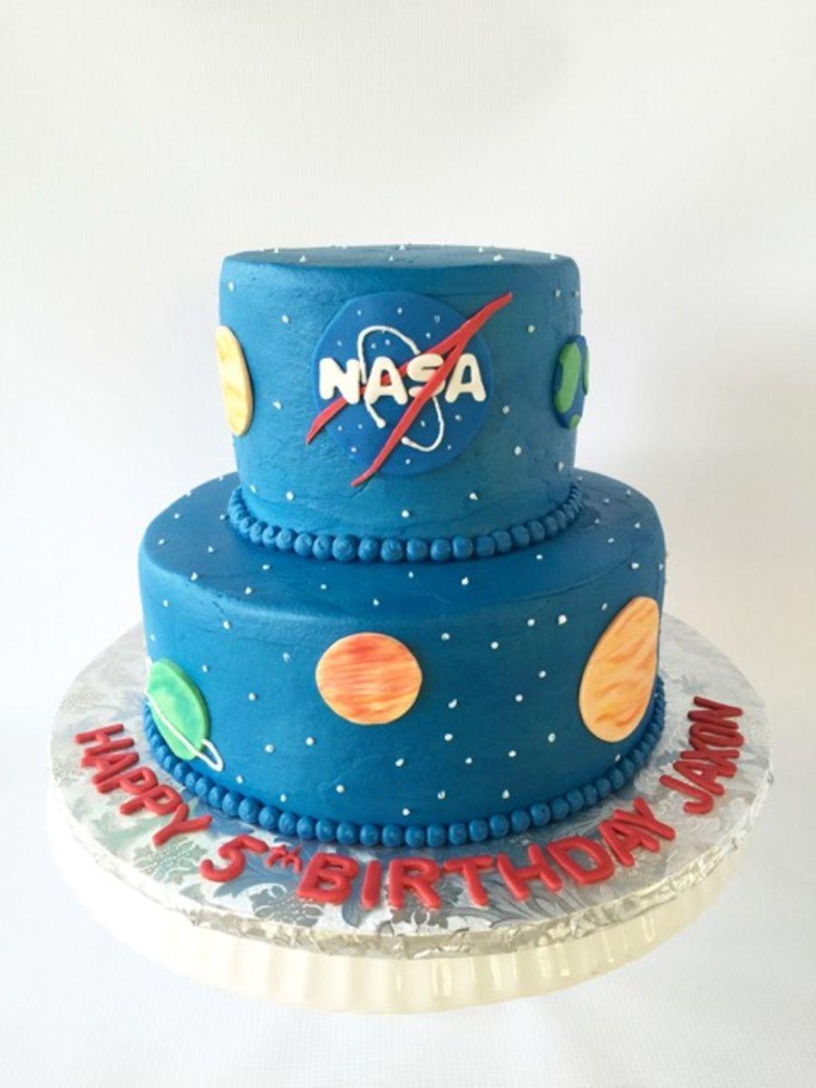 Nasa Themed Birthday Cake Cakecentral