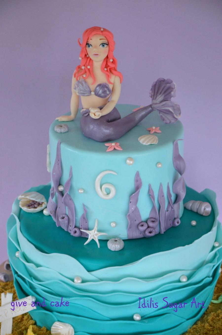Mermaid Cake Recipe