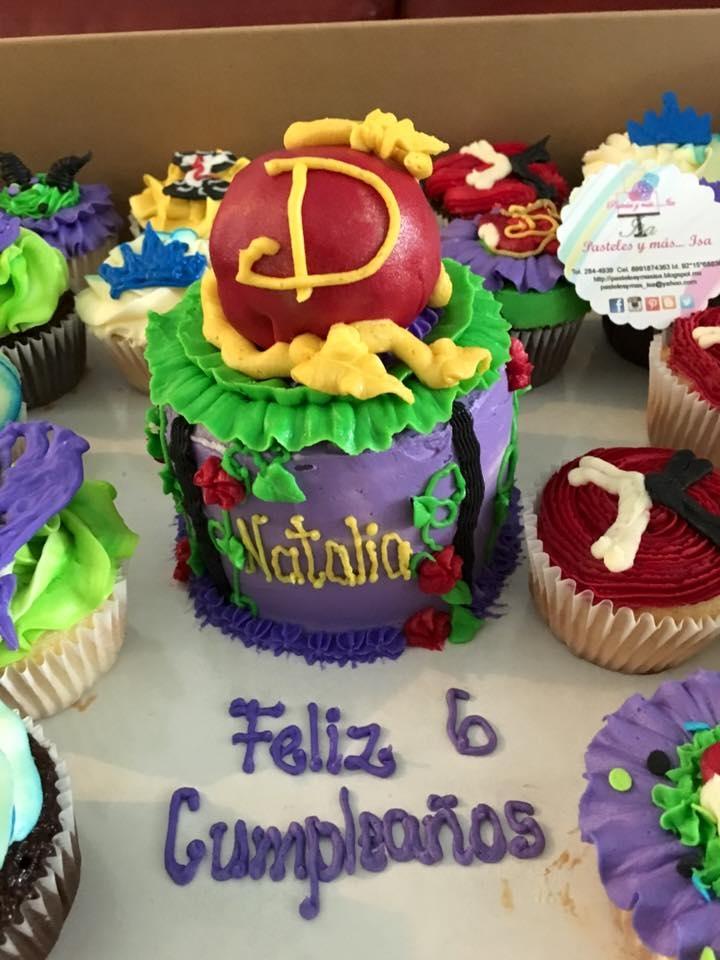 disney's descendants cupcakes - 720×960