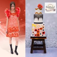 Cake Central Magazine Fashion Issue: Volume 6 Issue 4 I was so honored to be featured in Cake Central's September 2015 Fashion Issue. The Cake was inpired by a Chanel Dress. The flowers...