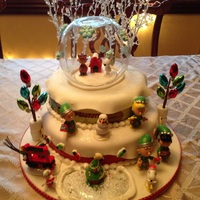 Charlie Brown Peanuts Christmas Charlie Brown Peanuts Christmas Birthday Cake