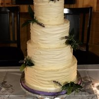 Rustic Wedding Cake Rustic wedding cake, all buttercream