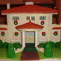 Gingerbread Replica Of Historic Home The subject of this house was built in 1909, and my client asked me to replicate it for a Christmas party there. It was great fun getting...