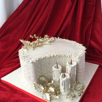 Christmas Cake Merry Christmas and Happy New Year my dear virtual friends!