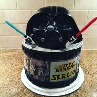 Star Wars Birthday  This cake was for a clients fiancees birthday. He is a huge Star Wars fan and his birthday was the weekend of the new movie release. The...