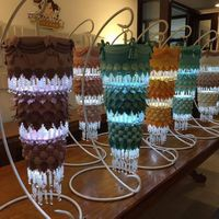 Chandelier Cakes Take your pick! These chandelier cakes are the output of our participants during a workshop/class!