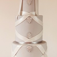 Simple And Modern fondant satin ribbons