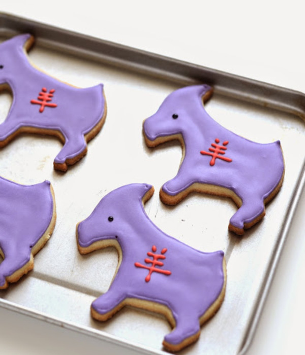 Year Of The Goat (Or Ram) Cookies
