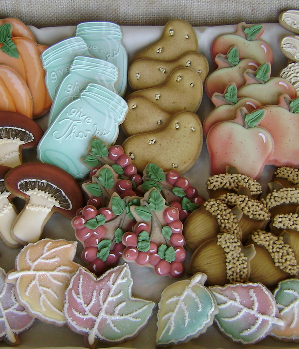 Bountiful Harvest Cookie Platter