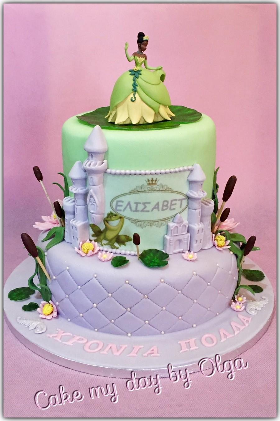 Princess Tiana Cakecentral Com