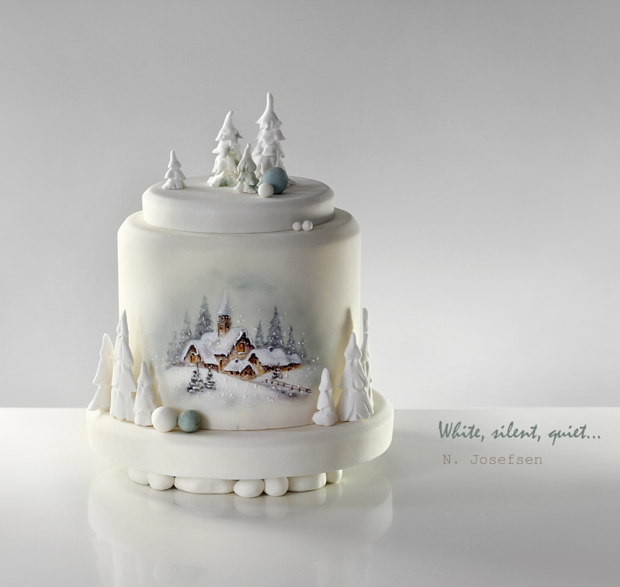 Cake Decorating Christmas Issue : Christmas - CakeCentral.com